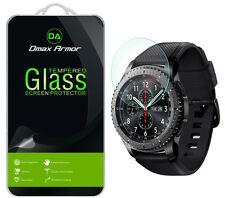 [3-Pack] Dmax Armor Samsung Gear S3 Classic Tempered Glass Screen Protector