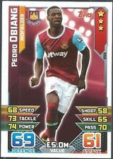 TOPPS MATCH ATTAX 2015-16- #355-WEST HAM UNITED-PEDRO OBIANG