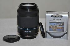 Samsung NX 50-200mm f4-5.6 ED OIS i-Function Zoom Lens(Black)+ Filter, Excellent