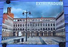 Affiche Extrémadure, Extremadura, Badajoz, 68 x 48 cm, parfait état