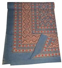 New Block Print Tapestry Cotton India Bed Sheet Jaipur Linens Couch Throw