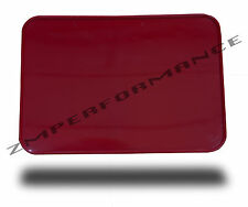 """NEW MOTORCYCLE MX ATV AMA LEGAL RED REAR NUMBER PLATE 7"""" x 10"""" RECTANGLE"""