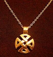 LOOK Celtic Maltese Cross Gold Plated Pendant Charm Jewelry