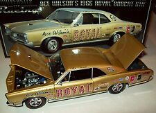 Ace Wilson 1966 Royal Bobcat Pontiac GTO 1/24 NHRA Racing Excellent Detail New