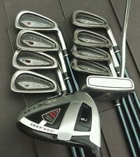 Wilson Golf Set, Deep Red WTX 2.0 10.5* Driver, Ci6 Irons 3-PW, Putter