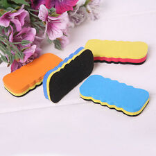 4Pcs Board Rubber Blackboard Whiteboard Cleaner Dry Marker Pen Eraser 6CM Nice