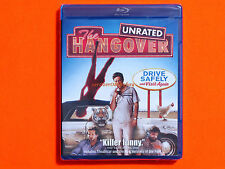 THE HANGOVER Unrated Bluray **Brand New & Sealed**
