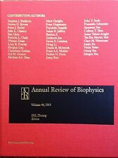 Annual Review of Biophysics Vol. 44 2015 eds. Dill & Zhuang new hardcover