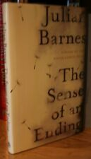 JULIAN BARNES + THE SENSE OF AN ENDING + SIGNED U.K 1ST EDITION / 1ST PRINTING