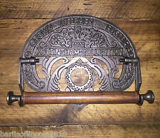 Cast Iron Kitchen Roll Holder/Vintage/Rustic/Industrial/Shic/Retro/Metal/Ornate