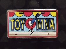 New Authentic Disney License Plate TOYMNA Toy Story Mania Booster Trading Pin