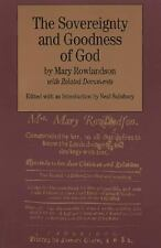 The Sovereignty and Goodness of God: with Related Documents Bedford Cultural Ed