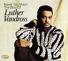 Luther Vandross Never Too Much: The Soul Of 2-CD NEW SEALED 2009