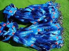 100 x Personalised Lanyard,Safety Release Clip,Printed with Your Logo & Text UK