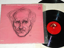 TOSCANINI-Plays Light Classics (1963) Mono RCA RED SEAL NM 2-LP Set *In Shrink*