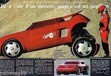 Coupure de Presse Clipping 1990 (2 pages) Franco Sbarro la chrono