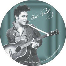 ELVIS PRESLEY Jean Jacket Guitar Collector Sticker NEW OFFICIAL MERCHANDISE RARE