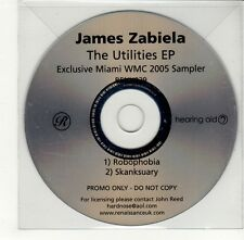 (GO307) James Zabiela, The Utilities EP - 2005 DJ CD