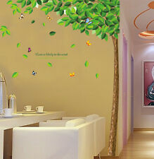 Asmi Collection Pvc Wall Stickers Wall Decals Big Tree for Bedroom