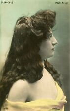 Vintage French RPPC postcard - Actress miss Desroches - Walery C929