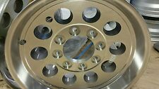 17.5 x 6.75 ALUMINUM  MOD TRAILER  RV WHEEL 8X6.5  LUG  130 PSI 6050 LB   LOW $