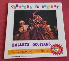 BALLETS OCCITANS LP CARNAVAL ES ARRIBAT   REVOLUM / CHANT DU MONDE
