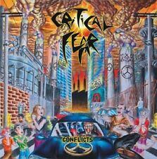 CRITICAL FEAR - CONFLICTS - CD  Brazilian Thrash Metal Crossover Nuclear Assault
