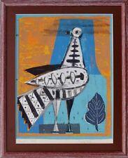 Expressiver Realismus  Wolf Hoffmann 1898-1979 Moderne Kunst - Friedenstaube- x