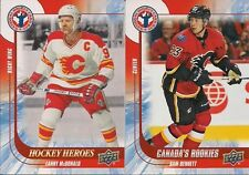 CALGARY Flames 2016 National Hockey Card Day Canada Lanny McDonald Hockey Heroes