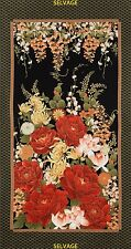 Timeless Treasures100% cotton fabric Patchwork Quilting FQ IMPERIAL FLOWER PANEL