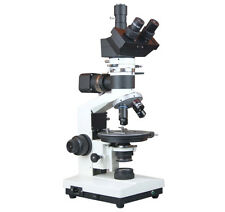 Trinocular Research Geology Ore Petrology Incident Light Polarizing Microscope