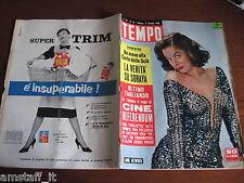 RIVISTA TEMPO 1958/22=ANNE HEYWOOD=SCIA' DI PERSIA=ALESSANDRA PANARO=
