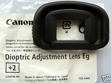 Canon Dioptric adjustment lens Eg+2 for EOS 1DX,1DlV,1Dlll ,1DS lll,5Dlll n 7D