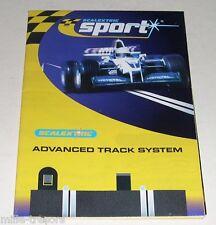 DOCUMENTATION SCALEXTRIC Sport RACE MANAGEMENT System (Logiciel RMS pour PC)