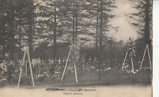 CO07. Vintage French Postcard.WWI English Cemetary.Hecquet Chassée Marcadet
