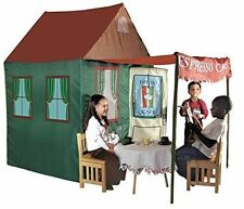 Kids Expresso Cafe Play Tent Adventure Playhouse Children Pretend Indoor Outdoor