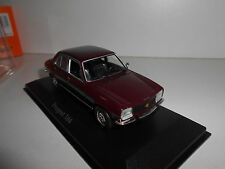 PEUGEOT 504 DARK RED 1970 MAXICHAMPS MINICHAMPS 940112500 1:43