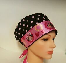 MINNIE  MOUSE   / HAT PIXIE  SCRUB / MEDICAL CHEMO / CAP
