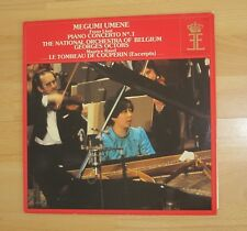 QUEEN ELISABETH COMPETITION LISZT PIANO CONCERTO MEGUMI UMENE NOS UNPLAYED LP
