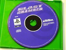 !!! PLAYSTATION PS1 SPIEL Blast Chamber NUR CD, gebraucht aber OK !!!
