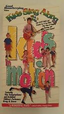Kids Sing Along: Kids in Motion VHS Video - Scott Baio