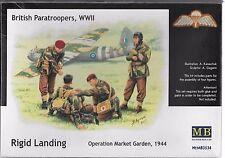1/35 Master Box 3534 - British Paratroopers, WWII Market Garden  4 figure set