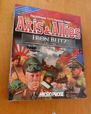 Axis & Allies Iron Blitz Edition NEW Factory Sealed  EXTREMELY RARE PC GAME 1999