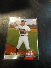 2009 Upper Deck USA Manny Machado Prospect Card # USA