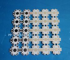 25pc 20mm 3w High Power 6pin RGB LED PCB Aluminum Star base plate Circuit board