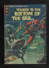 "1964 1ST ISSUE "" VOYAGE to the BOTTOM of the SEA "" GOLD KEY COMIC BOOK COMPLETE"