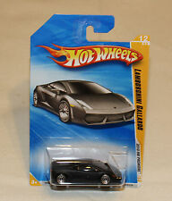 2010 Hot Wheels HW Premiere #12 Lamborghini Gallardo Matte Black New