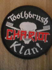 Toothbrush Chariot Klan ! muziek patch Sew On black