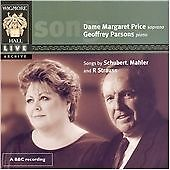 Songs by Schubert, Mahler and R. Strauss (Dame Margaret Price/Geoffrey Parsons),