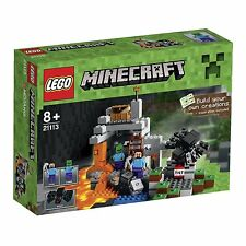 LEGO Minecraft The cave kids construction amusant idée cadeau neuf